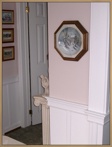 After Custom Wainscoting Installation
