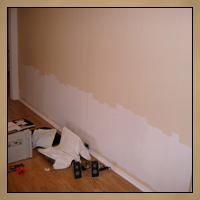 Wainscoting Before Image 2