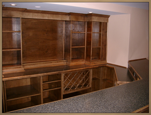 Basement Home Bar Custom Cabinets Ottawa Whitby