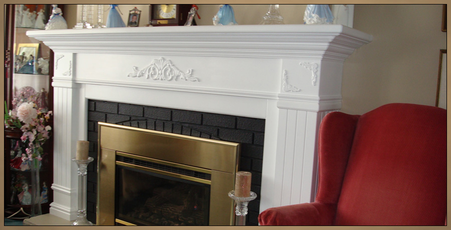 Mantels :: Traditional Fireplace Mantel Surround - Whitby -Ottawa