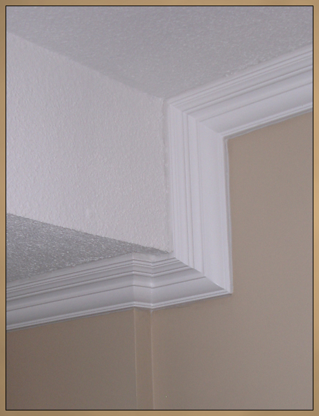 Replaced Crown Moulding After Photo