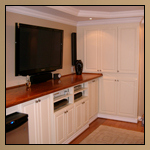 Custom Cabinetry - Home Bar Entertainment Center Thumbnail Image