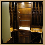 Custom Cabinetry - Wine Cellar Thumbnail Image